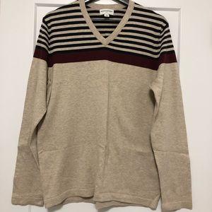 BR Cotton v-neck knit
